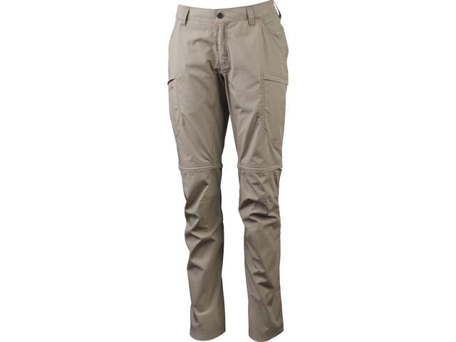 Lundhags Nybo Zip-Off Pants Women dune